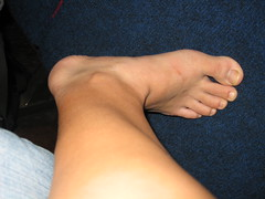 My foot (nao.nozawa) Tags: foot
