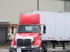 Getting ready to go around barrels (Jenni Reynolds-Kebler) Tags: truck washington spokane competition 100views trucking truckcompetition spokanetruckcompetition