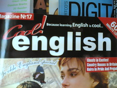 English learning magazine in Germany