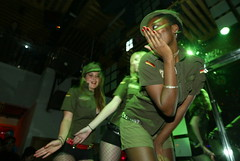 Army_Girls (the Beijinger Magazine) Tags: show china new friends party people food art halloween bar night fun costume cafe bars beijing celebration   guide  expats celebrate foreigners  cafes  expat   foreigner             tbj   thatsbj