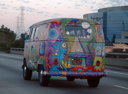 hippie-van