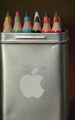 apple colored pencils (pr9000) Tags: pencils yahoo d70 colored applecomputer explorepage
