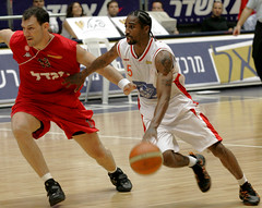 Basketball - 2005/6 (ido1) Tags: basketball ball israel hapoeltelaviv hapoeljerusalem