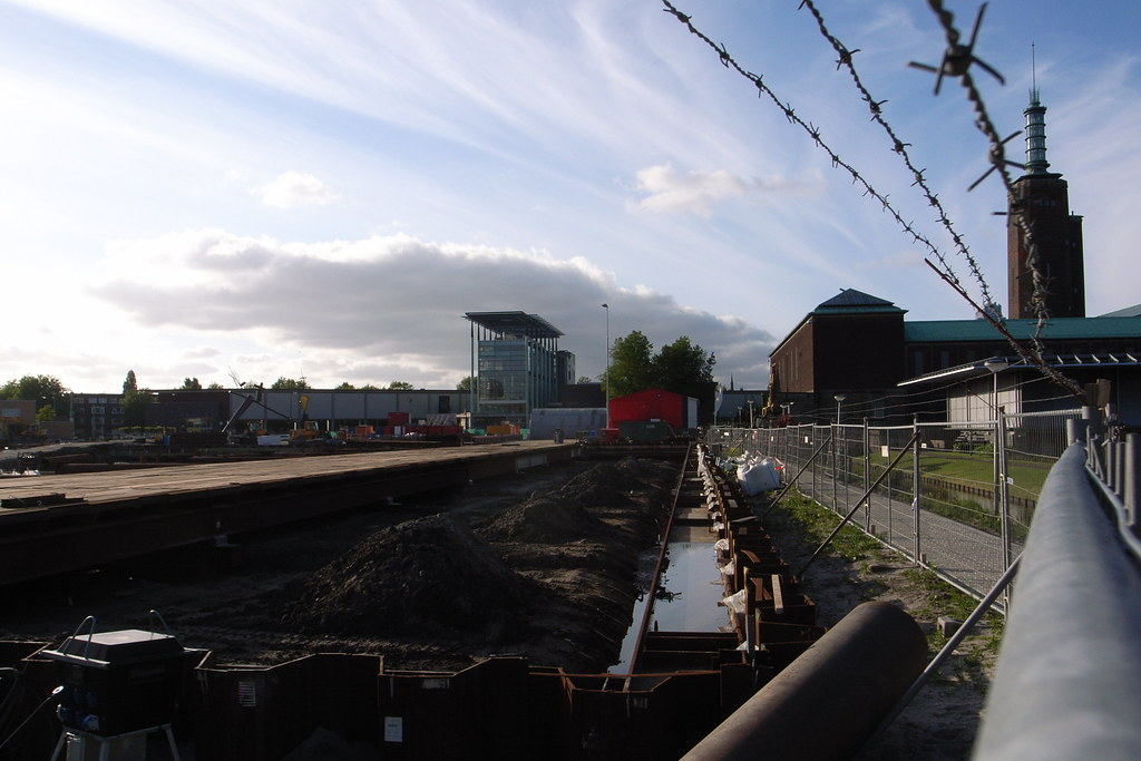 Museumpark construction