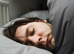 Self-portrait While Asleep (Dan Sumption)