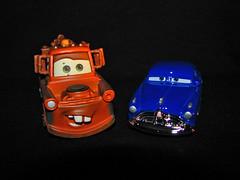 Mater & Doc Hudson (Matt McGee) Tags: cars toys mater pixar carsthemovie dochudson
