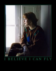i believe i can fly (-Merce-) Tags: window ventana interestingness motivator perfil retrato profile portratir interestingness132 i500 1on1motivator mmbmrs