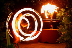 """Magic Happens"" - Fire Dancers in Goa (Anindo Ghosh) Tags: nightphotography india beautiful night geotagged fire coo"