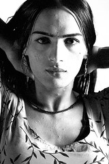 Spellbound (Fayyaz Ahmed) Tags: pakistan portrait bw beautiful beauty mono pretty transvestite karachi transexual gender transsexual eunuch hijra