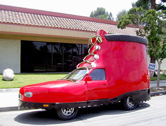 Red Shoe Car (See El Photo) Tags: red 15fav car 510fav fun crazy amazing nice funny ride lol awesome great transport explore greatshot wacky redcar 1f faved 700v automoblie 1015fav 15f 555v5f 333v3f 222v2f 444v4f explore9 777v7f crazyride wackyride 70views shoecar 66v6f