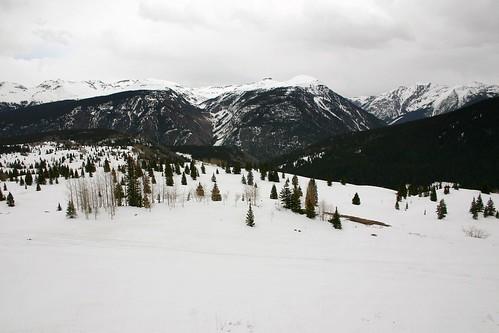 Snowy Scene at Molas Pass