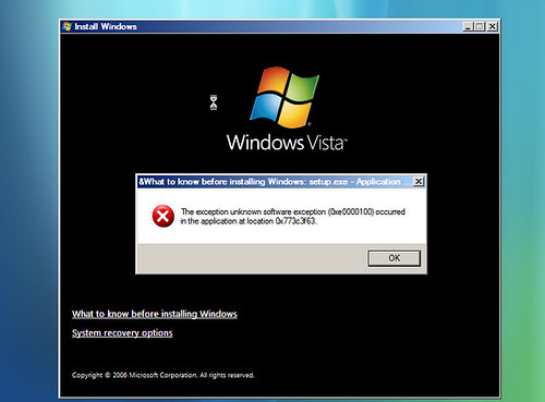 First impression of Windows Vista