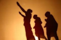 Prayer at dawn, on the bank of a holy river (Java Cafe) Tags: morning people india topf25 monochrome silhouette river dawn interestingness twilight 500v20f singing song indian prayer 100v10f duotone hindu f25 50v5f interestingness124 i500 fivestarsgallery explore21jun06 abigfave artlibre