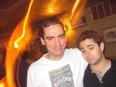 Smith and Michael, even drunker (Seeking Irony) Tags: hejhej
