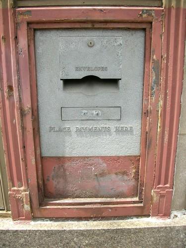 Bill Payment Box