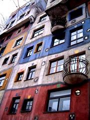wwbwr (ssjl) Tags: wien austria postmodern hundertwasser pastelcolours colourscolourscolours beautifulbeautifulbeautiful