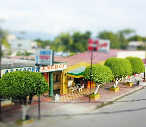 chancekear 拍攝的 Tecoa, Honduras - Tiltshift。