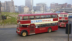 Buses, Glasgow, 1978. (Fray Bentos) Tags: glasgow bus westernsmt vcs367 scottishbusgroup bristolflf ecw bristollodekka