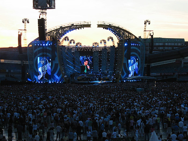 Robbie Williams concert by Nouna Andersson