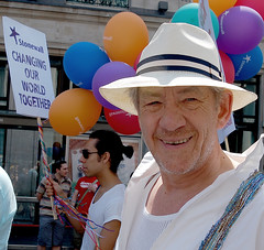 Ian McKellen - by lewishamdreamer