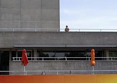 > (ponyintheair) Tags: uk england orange london southbank gradient nationaltheatre se1 thenationaltheatre