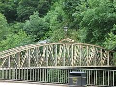 King George Bridge at Matlock Bath