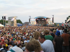 Isle of Wight Festival 2006 - view from the Vi...