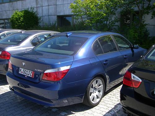 Bmw Gallery 2007 Bmw 530i Blue