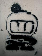 Videogame star (Smeerch) Tags: stella italy streetart stencils black rome roma muro art wall stars graffiti star video stencil paint italia arte spray videogames videogame walls bomba graffito bomb bombs nero bombing aerosolart bombe spraycan lazio paints vernice vernici muri stelle bombin artedistrada