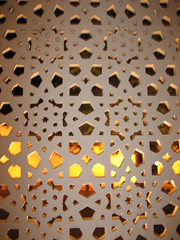 Islamic art (Sakena) Tags: dubai pattern islamic yourfavorites canonixus50
