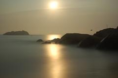 DSC_2645.JPG (cjbaker4) Tags: ocean longexposure moon beach water night manchester massachusetts moonset singingbeach