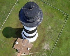 Bodie Island Lighthouse- Hatteras National Seashore, North Carolina (Jones Airfoils) Tags: lighthouse beach northcarolina kap outerbanks aerialphotography obx bodieisland jonesairfoils hatterasisland
