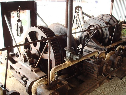 Albany Whaling Station Winch Machinery, W.A.