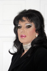 Heavy Makeup (Christine Fantasy) Tags: slut feminine makeup christine fantasy transvestite heavy crossdresser transsexual shemale