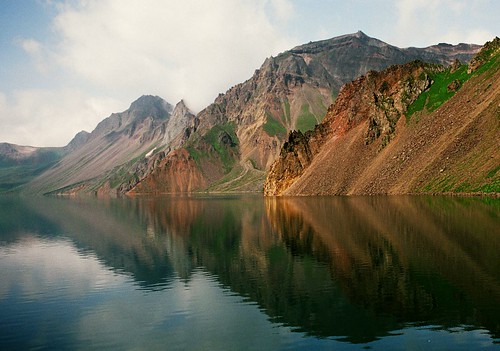 heaven pool and baiyun feng, changbai shan