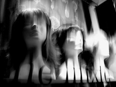 hairs (Desiretofire: music is the shape of silence) Tags: light white black shop women hairs