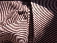 cuff (Mamluke) Tags: sun sunlight texture textura home minnesota shirt stripes minneapolis fabric cuff tageslicht sunlit sleeve zonlicht beschaffenheit chemise cufflink textuur lumiredusoleil minneapolisminnesota luzdelsol mamluke lucesolare