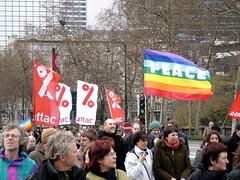 Attacis bei Friedensdemo in Brüssel. Bild: CC zugaldia/FlickR