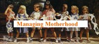 managing motherhood buttonsmall