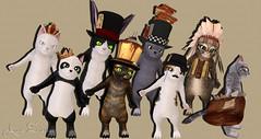 Here Kitty Kitty 4 (Arora Zanzibar) Tags: cats freestyle mesh avatar kittens sl secondlife arora cheap gacha arorazanzibar