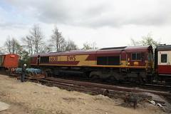 66138 Preston Docks, The Olive Branch No. 2 (daveymills31294) Tags: uk docks branch olive railway 66 class steam preston dbs ribble ews railtours 66138