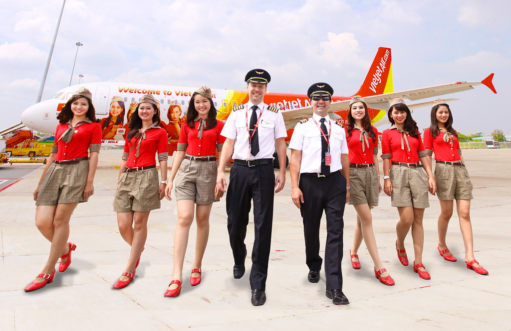 VietJetAir mo ban ve duong bay TpHCM - Bangkok
