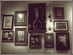 The Last Drop (Billy McDonald) Tags: sepia bar pub inn edinburgh photos framed hanging hdr noose thelastdrop