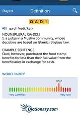 Anglų lietuvių žodynas. Žodis qadi reiškia <li>qadi</li> lietuviškai.