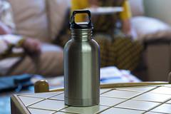 _1000060 (Roy Prasad) Tags: california leica water metal bottle bokeh panasonic prasad waterbottle vlux typ114 royprasad fz1000