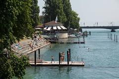 Konstanz mit Tobi am 16.07.2015 (kai.anton) Tags: lake water train germany deutschland schweiz boat swiss zug bodensee konstanz schiff constance twitter