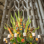 One of the arrangements for the 2015 Festival of Flowers  in Winchester Cathedral thumbnail