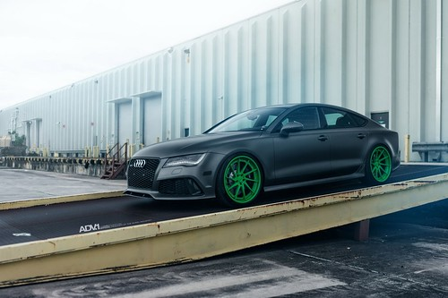 Audi RS7 Sportback on ADV.1 Wheels