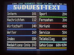 Germany West (timm999flickr) Tags: ntsc f2 es pal uhf vhf telefunken gte tropo secam fubk tvdx meteorscatter 625lines multistandard longdistancetvreception 525lines philips5544 philipspm5534 ut0167