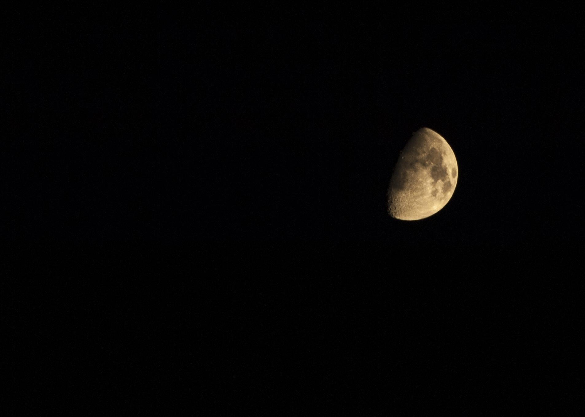 Lua - Quarto Crescente